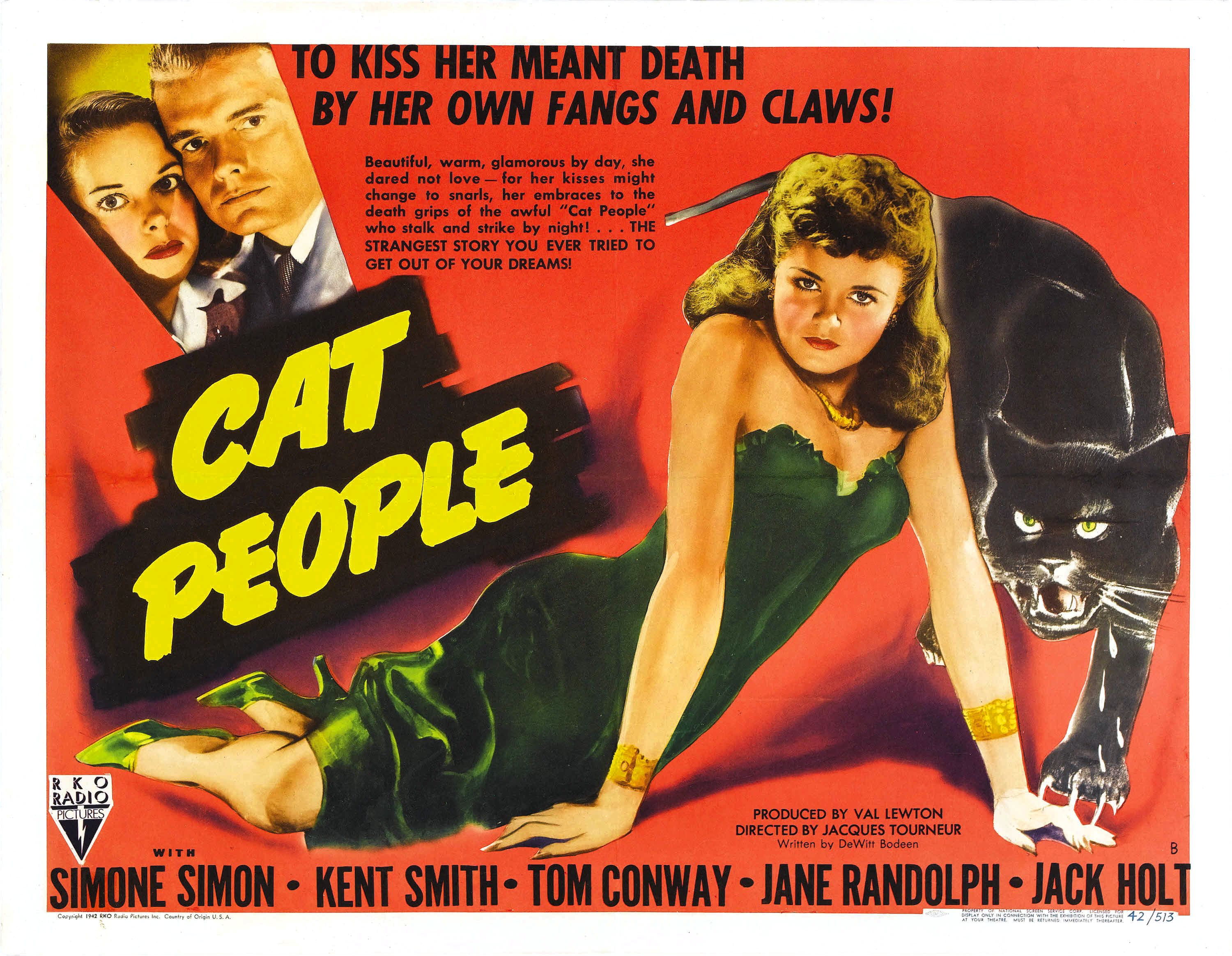 1942-cat people-poster
